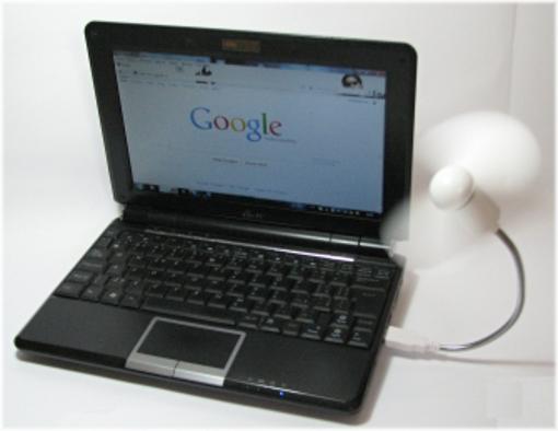 Obrázek z Větrák, ventilátor k notebooku USB
