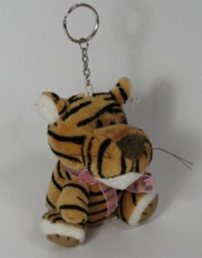 Obrázek z Klíčenka plyšová, tygr