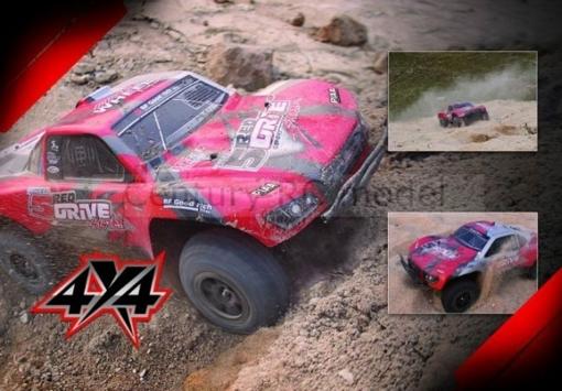 Obrázek z RC Off-Road 4x4 pro rally 4WD 2,4GHZ RTR HQ 727