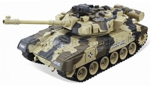 Obrázek z R/C airsoft model Ruského tanku RUSSIAN T90 RC TANK 1:20 RTR YH4101B-8