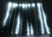 Obrázek z Světelné LED rampouchy, padající sníh venkovní - 50 cm/8 ks
