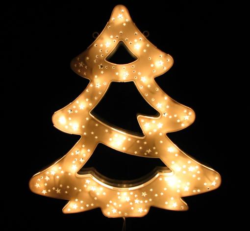 Obrázek z Vánoční LED osvětlení strom - dekorace na okno, dveře