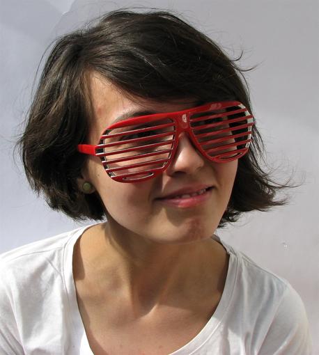 Obrázek z Párty brýle - Žaluzie