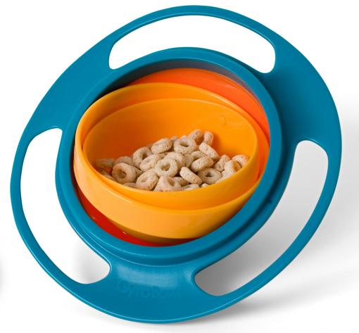 Obrázek z Gyro Bowl - kouzelná miska pro děti