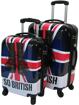 Obrázek z Cestovní kufry sada 2 ks ABS - PC potisk So British