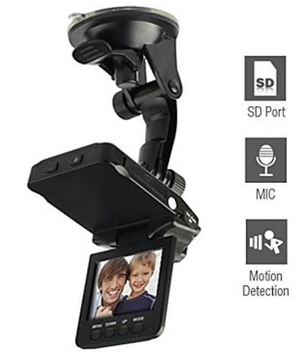 """Obrázek z LCD kamera do auta HD DVR 2,5"""""""