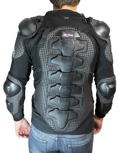 Obrázek z Ochranná vesta páteře, hrudi a loktu