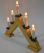 Obrázek z Vánoční osvětlení svícen - dekorace za okno
