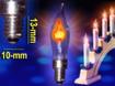 Obrázek z Hořící žárovka na vánoční svícen náhradní