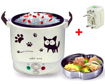 Obrázek z Hrnec na rýži, nejen pro pejsky a kočičky + cestovní adaptér