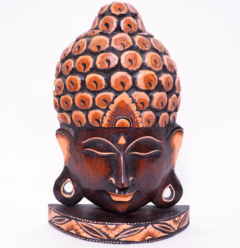 Obrázek z Dřevěná soška Buddha 30cm