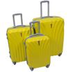 Obrázek z Skořepinové kufry 3 ks, velká cestovní sada na 4 kolečkách - 013