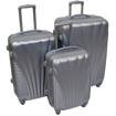 Obrázek z Skořepinový kufr 3 ks, velká cestovní sada na 4 kolečkách - 8603
