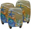 Obrázek z Cestovní kufry sada 3 ks ABS - PC potisk moře