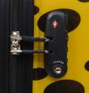 Obrázek z Kabinový kufr ABS - PC potisk beruška s puntíky