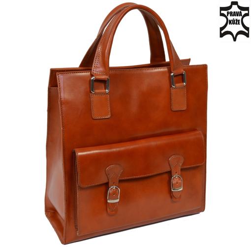 Obrázek z Kožená kabelka Italy Design