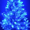 Obrázek z Vánoční LED osvětlení, světelný řetěz, venkovní 100 LED/10 m propojovatelné