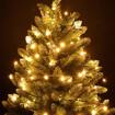 Obrázek z Vánoční LED osvětlení, světelný řetěz na stromeček 100 ks/10 m propojovatelné