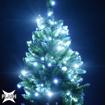 Obrázek z Vánoční LED osvětlení, světelný řetěz, venkovní 180 ks/20 m s FLASH