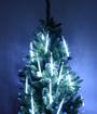 Obrázek z Světelné LED rampouchy, krápníky, padající sníh vnitřní - 50 cm/8 ks