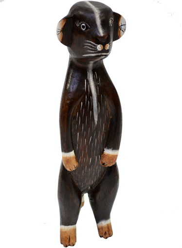 Obrázek z Dřevěná soška surikata 40cm