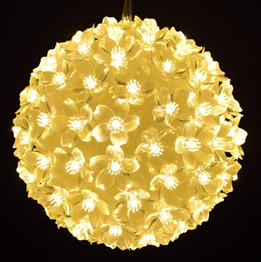 Obrázek z Vánoční dekorace 50 LED diod