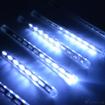 Obrázek z Světelné LED rampouchy venkovní, padající sníh - 30 cm/8 ks