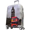 Obrázek z Cestovní kufr ABS vel. M - PC potisk Big Ben