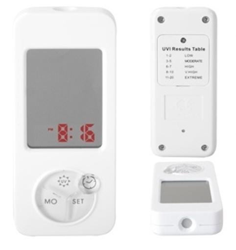 Obrázek z Uv senzor s hodinami a zrcátkem