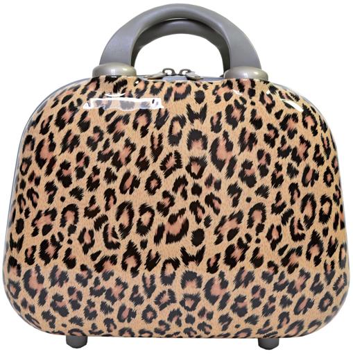Obrázek z Cestovní příruční kufřík ABS leopard