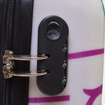 Obrázek z Cestovní kufr ABS vel. L - PC potisk Sova