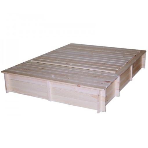 Obrázek z Pískoviště s krytem a boxem na hračky 140x185