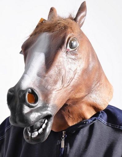Obrázek z Maska - hlava koně