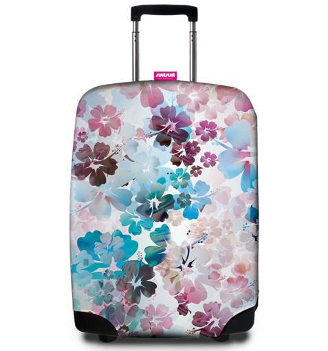 Obrázek z Obal na kufr SUITSUIT® 9056 Beach Flowers