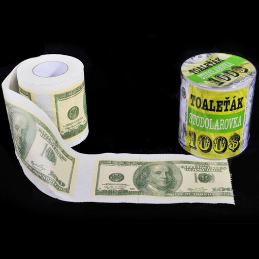 Obrázek z Toaletní papír 100 Dolarovka