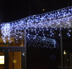 Obrázek z Vánoční osvětlení venkovní, světelné LED krápníky 310 ks/15 m
