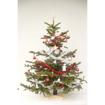 Obrázek z Stojan na vánoční strom dřevěný 45x45x14 cm