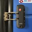 Obrázek z Skořepinový palubní kufr na 4 kolečkách - S1152