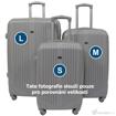 Obrázek z Cestovní kufr ABS vel. M - PC potisk Sova