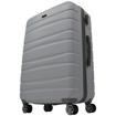 Obrázek z Skořepinový cestovní kufr na 4 kolečkách - L1152