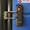 Obrázek z Skořepinové kufry 3 ks, cestovní sada na 4 kolečkách - Luxfery