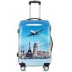 Obrázek z Cestovní kufr velký ABS vel.L - PC tisk Aircraft