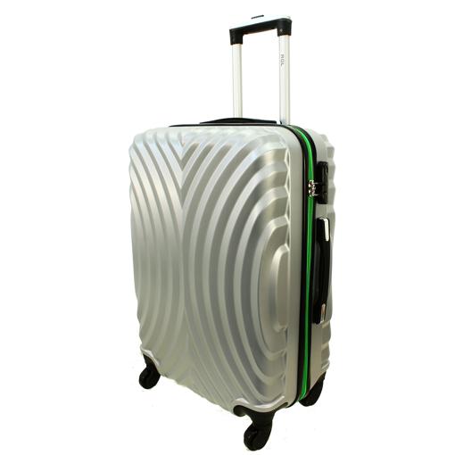 Obrázek z Cestovní kufr ABS + Carbon na 4 kolečkách - M760