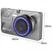 """Obrázek z Kamera do auta A326 se zadní kamerou 4"""" LCD CZ"""