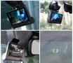 """Obrázek z Kamera do auta s velkým 4"""" LCD - trojité záznamové zařízení"""