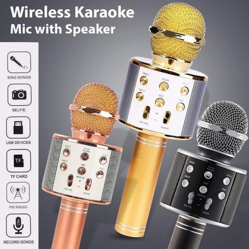 Obrázek z Karaoke mikrofon WS 858