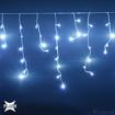 Obrázek z Vánoční osvětlení, světelné LED krápníky 105 ks/4 m x 0,8 m s Flash