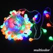 Obrázek z Světelná žárovková LED girlanda 40ks/6,5m