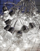 Obrázek z Světelný LED závěs, žárovky 8 m