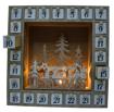 Obrázek z LED Dřevěný adventní kalendář